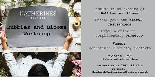 Bubbles and Blooms - Here comes the Sunflowers Masterclass