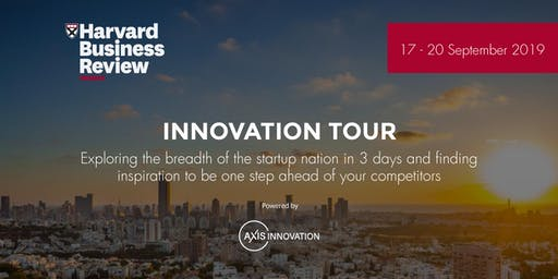 INNOVATION TOUR - HARVARD BUSINESS REVIEW France, by Axis Innovation