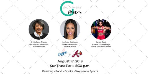 GladiatHers® Women in Sports Mixer at SunTrust Park