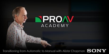 Transitioning from Automatic to Manual with Alister Chapman tickets