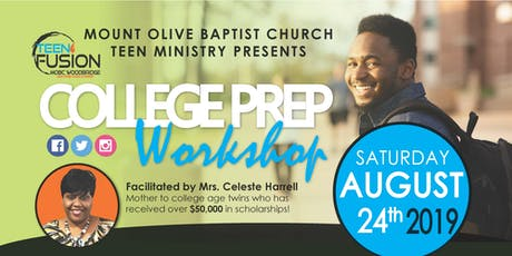College Prep Workshop for 8th to 12th Graders tickets