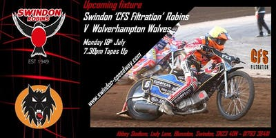 Swindon Robins V Wolverhampton Wolves