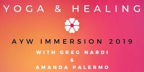 Yoga & Healing Immersion With Greg & Amanda  tickets
