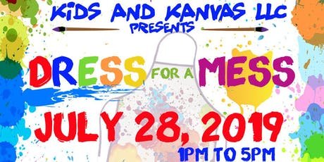 KIDZ AND KANVAS PAINT PARTY tickets