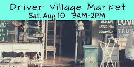 Driver Village Market 8/10 tickets