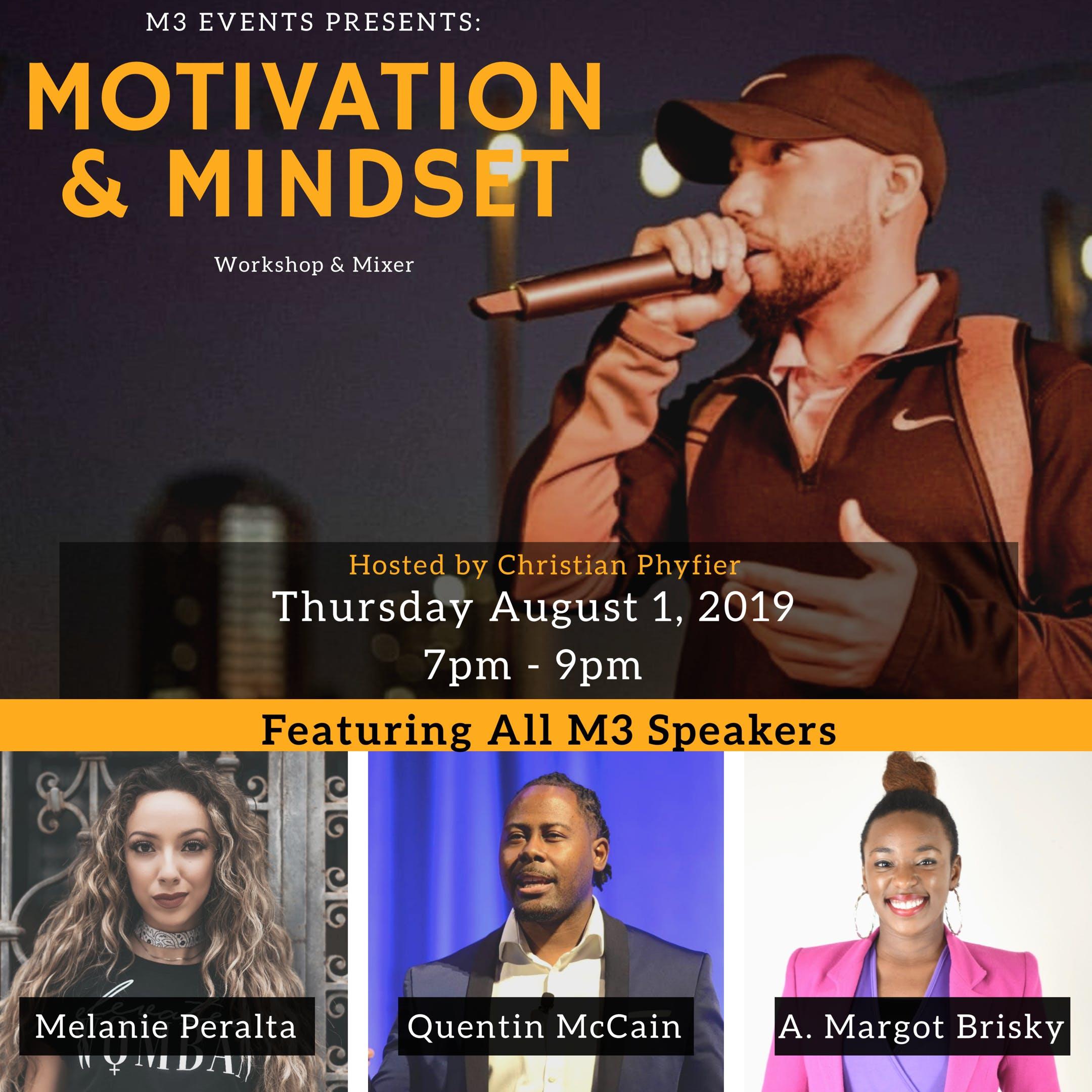 Motivation & Mindset Entreprenuer Workshop