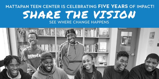 Share the Vision with Mattapan Teen Center