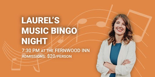 Laurel's Music Bingo Night