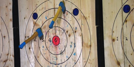 Axe Club - DAVIS EVENTS (Lauren) Axe Throwing Event tickets