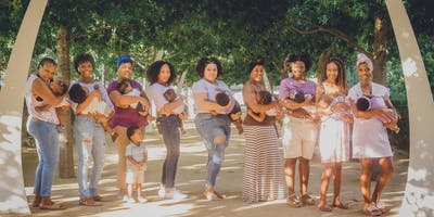 3rd annual Black Breastfeeding Week Photoshoot