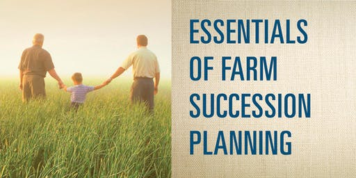 Essentials in Farm Succession Planning - Bellville