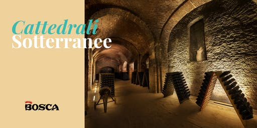 Tour in English - Bosca Underground Cathedral on 8th August 19 at 1pm