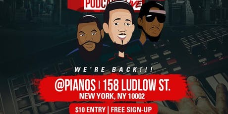 Beat Club Podcast Live at Pianos NYC tickets