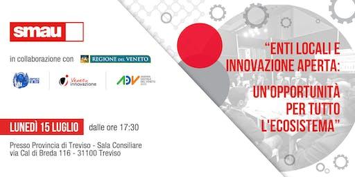 Enti locali e innovazione aperta: un'opportunità per tutto l'ecosistema