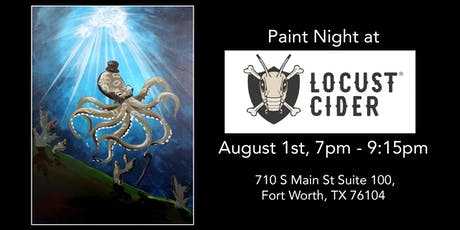 Painting and Cider at Locust Cider! tickets