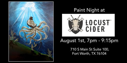 Painting and Cider at Locust Cider!