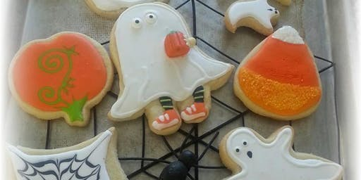 Basic Art of Cookie Decorating ~ Halloween edition