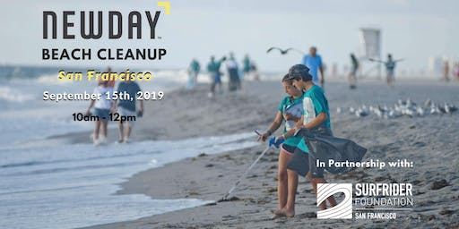 Ocean Beach Cleanup + After Party! NEWDAY INVESTING x SURFRIDER