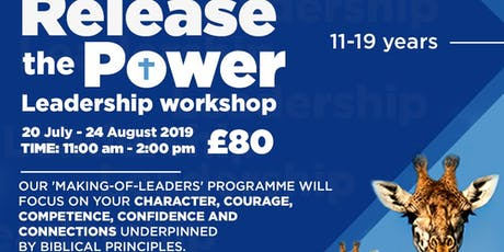 Release the Power - youth leadership development programme tickets