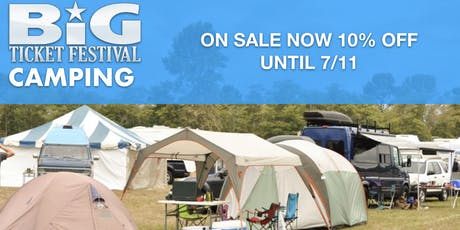 BTF2020 Camping  tickets