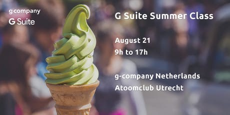 G Suite Summer Class tickets