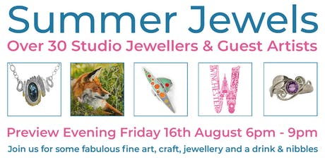 PREVIEW EVENING - Summer Jewels & Guest Artists at the Nutshell tickets