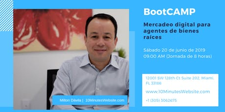 Marketing Real Estate Boot Camp (Spanish) tickets