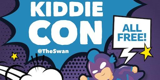 KiddieCon at The Swan - Superhero Make-Up Workshop