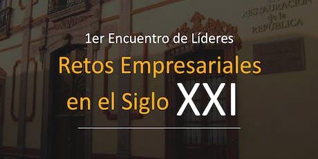 1er Encuentro de Líderes Empresariales entradas