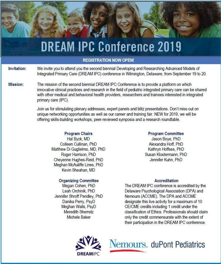DREAM IPC Conference 2019 Registration, Thu, Sep 19, 2019 at