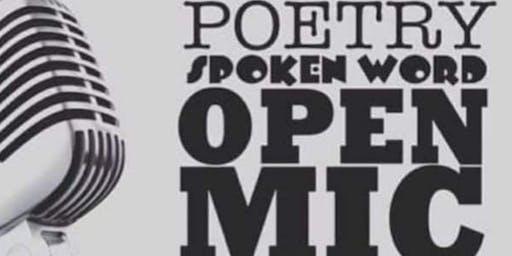 Afrikan Folklore & Spoken Word (Open Mic)