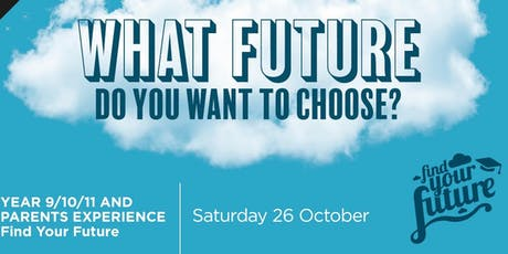 Find your Future 2019 (A) tickets