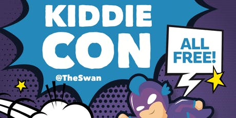 KiddieCon at The Swan - Superhero Prop Making tickets