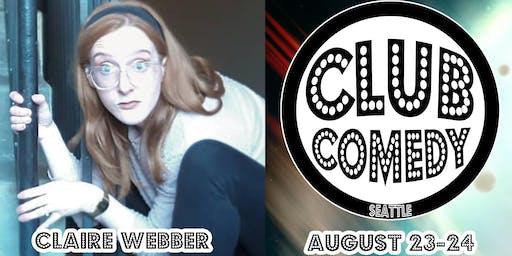 Claire Webber Saturday 8:00PM 8/24