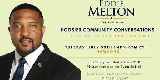 Hammond Community Conversation w/ special guest Dr. Jennifer McCormick