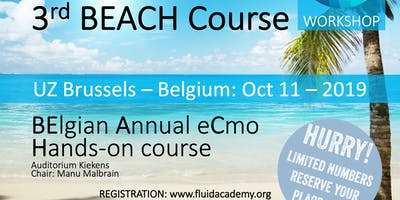 3rd BEACH course (BElgian Annual eCmo Hands-on)