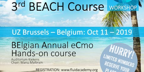 3rd BEACH course (BElgian Annual eCmo Hands-on) tickets