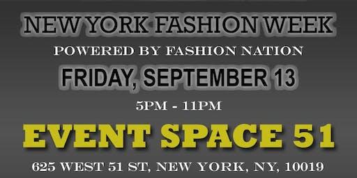 New York Fashion Week Designer Registration