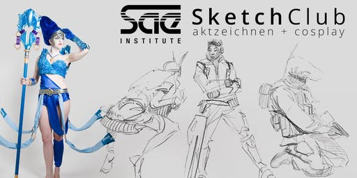 SAE SketchClub (Summer Sessions) - Game Art & 3D Animation