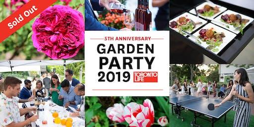 Toronto Life Garden Party 2019
