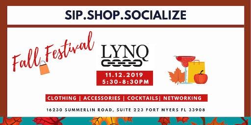 Sip.Shop.Socialize Fall Festival at LYNQ