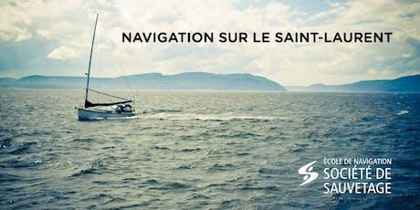 Navigation sur le Saint-Laurent (19-62) billets