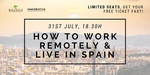 HOW TO WORK REMOTELY & LIVE IN SPAIN - Become a Digital Nomad
