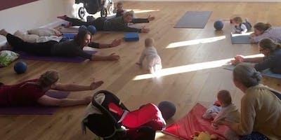 Babies, Lattes & Pilates - Post natal Pilates SEPTEMBER/OCTOBER £63