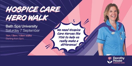 Hospice Care Hero Walk 2019 tickets