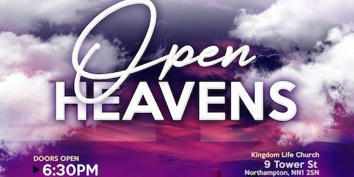 ASCENSION - OPEN HEAVENS