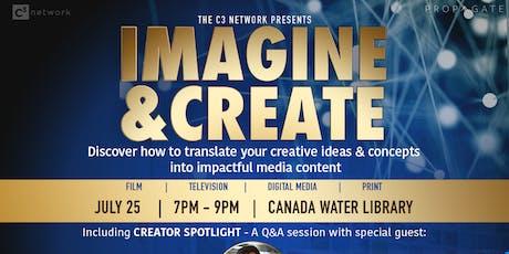 C3 Network - Imagine & Create tickets