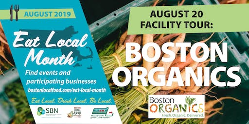 Tour of Boston Organics