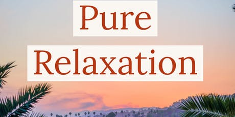 Pure Relaxation Session tickets