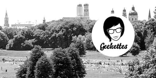 Geekettes Picknick: Spontaneity and Confidence @ Englischer Garten